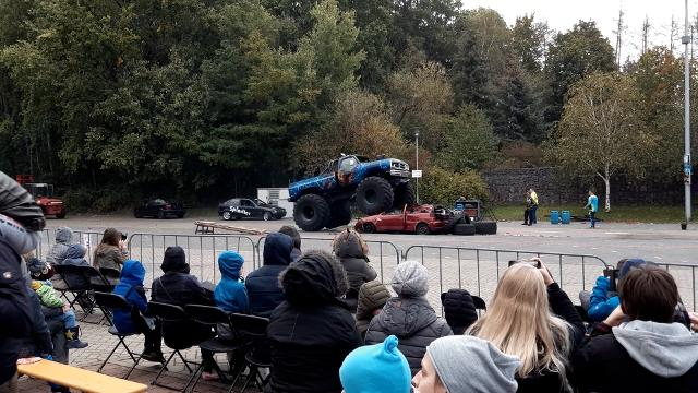Monstertruck-Show in Gifhorn