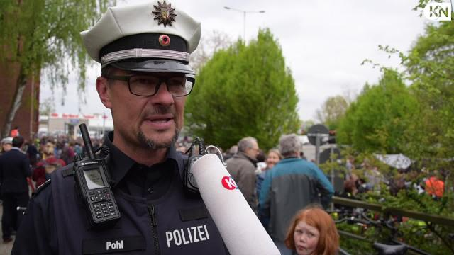 Autofrei: Demonstration auf dem Theodor-Heuss-Ring