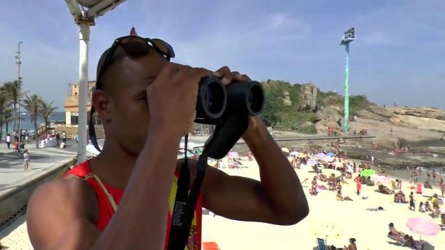 Olympia Spezial: Traumjob Bademeister am Strand von Ipanema