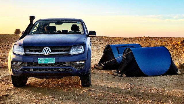 VW Amarok Adventure Tour 2018 - Im Amarok durch den  Oman
