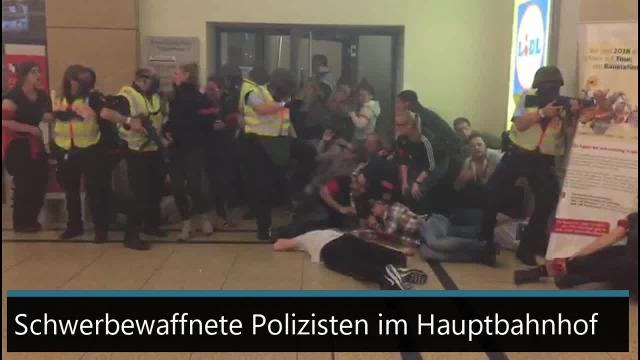 Anti-Terror-Übung in Hannover