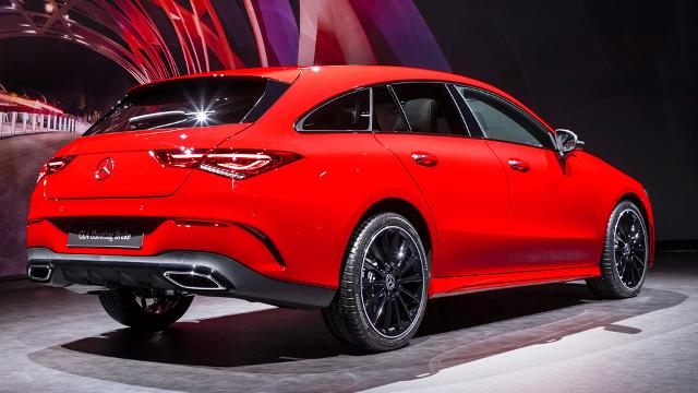 Genf 2019: Weltpremiere des CLA Shooting Brake