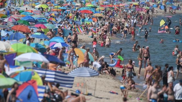 Frau stirbt nach Bad in der Ostsee an Bakterien-Infektion