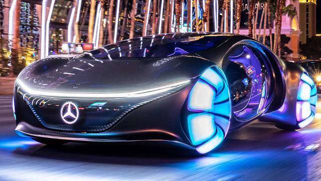 Mercedes Vision AVTR - Konzept mit Avatar Genen auf der CES