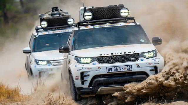 Land Rover Experience 2019: Im Discovery durch Afrika