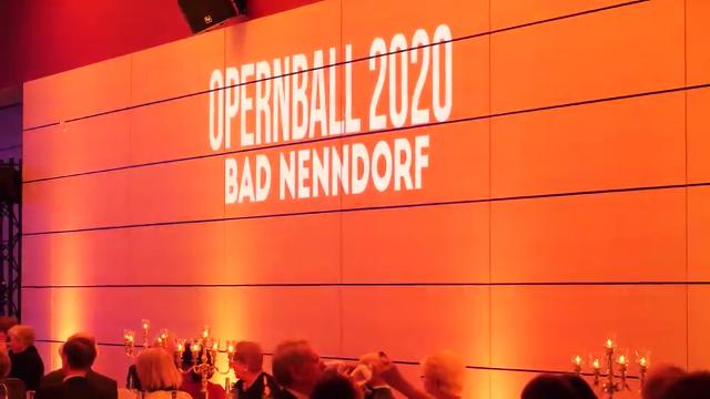 Opernball in Bad Nenndorf am 29.2.2020