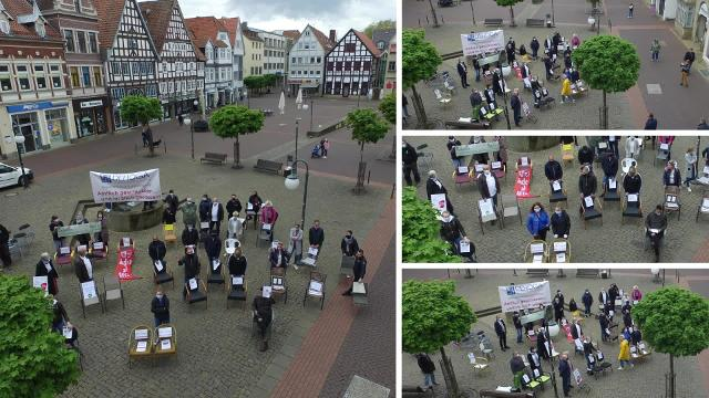 Dehoga-Demo in Stadthagen