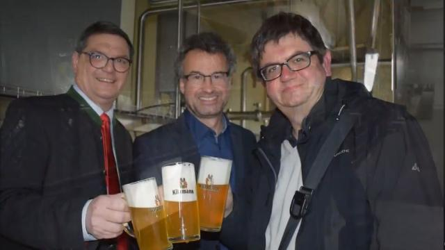 Besuch in Kulmbach: Hier wird Kitzmann-Bier gebraut