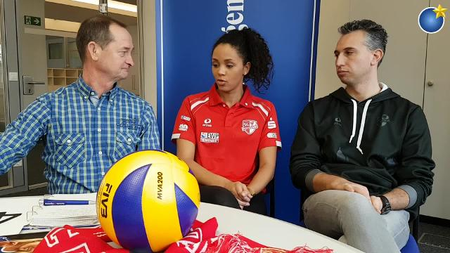 Tiebreak - MAZ-Volleyballtalk mit Zuspielerin Denise Imoudu