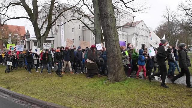 """""""Fridays for Future"""": Klimaschutz-Demonstrationen in ganz MV (15.03.2019)"""