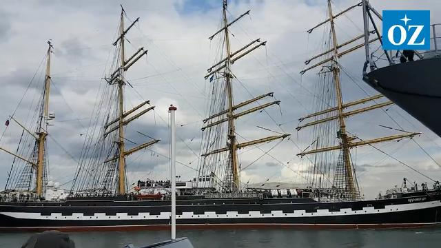 Das war die Hanse Sail 2019 in Rostock (Video: OZ/RND, 11.8.2019)