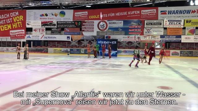 """Holiday on Ice"" Robin Cousins (Creative Director) spricht über die neue Show (Video: Claudia Labude-Gericke 