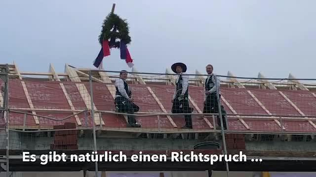 Richtfest in Neustadt