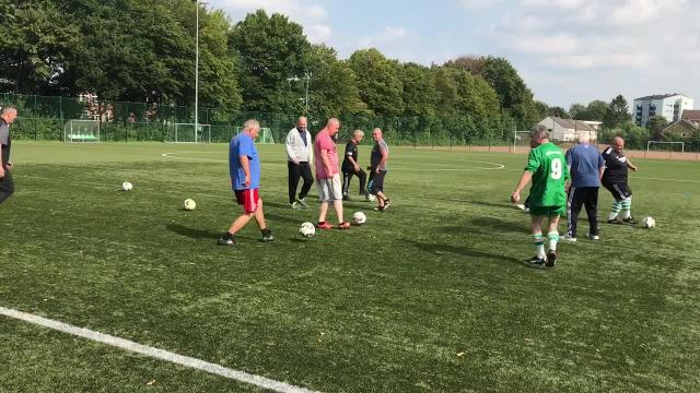 Walking Football bei Eintracht Lübeck